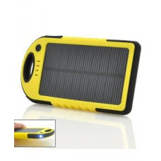 Портативная зарядка ES500 8000mAh солн. бат. +LED панель