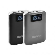 Портативная зарядка Remax Intelligent 10000mAh, 2usb, дисплей