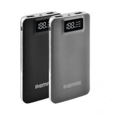 Портативная зарядка Remax Intelligent 20000mAh, 2usb, дисплей