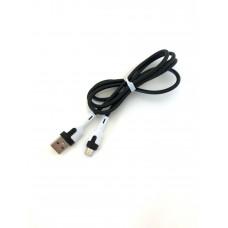 USB-microUSB кабель 750, резиновый однотонный