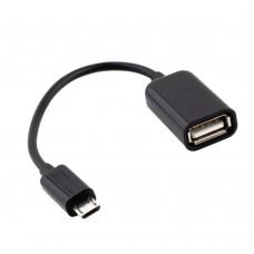 OTG кабель USB-microUSB