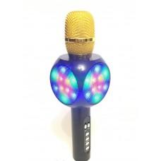 Караоке микрофон L19 со светомузыкой с Bluetooth и USB