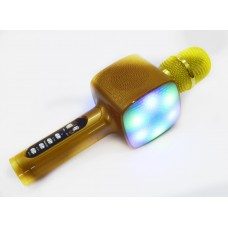 Караоке микрофон L20 со светомузыкой с Bluetooth и USB, SD, FM, AUX