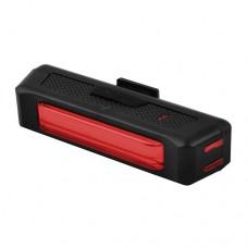 Задняя велофара RPL-2261-COB (красный), аккум., USB зарядка