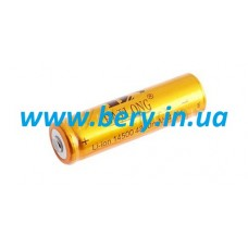 Аккумулятор 14500-4800mAh, без защиты, золотой