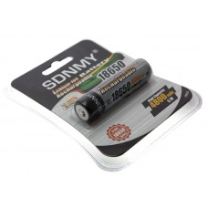 Аккумулятор SDNMY 18650 4800mAh с защитой, блистер