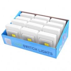 """Подсветка """"выключатель"""" KL1701/305-COB на бат. (липучка/магнит)"""