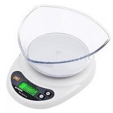 Весы кухонные HXD01B с чашей 3кг