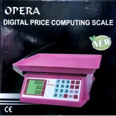 Весы торговые 40 кг mini Opera
