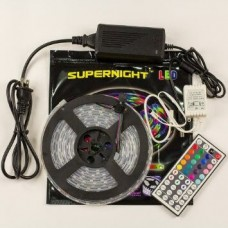 Комплект: LED лента SL RGB 5050 60SMD/м(в силиконе) 5м + контроллер 12V