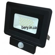 Прожектор LED Slim 30W с датчиком движения