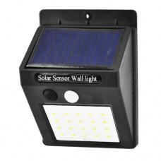 Настенный уличный светильник 6009-20 SMD, аккум. солн. бат.