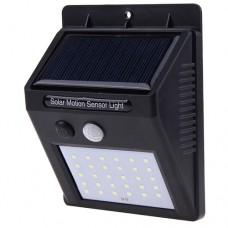 Настенный уличный светильник 6010-30 SMD, аккум. солн. бат.