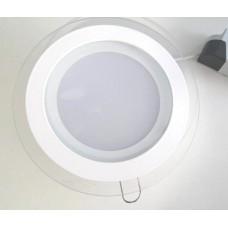 Светильник GL-R12 12W круглый, холодный свет