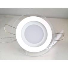 Светильник GL-R6 6W круглый, холодный свет
