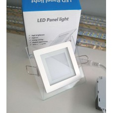 Светильник GL-S6 6W квадратный, холодный свет