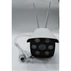 IP-камера WI-Fi V587 уличная с проводным интернетом с SD картой, ночным режимом, громкой связью, 2мя антеннами