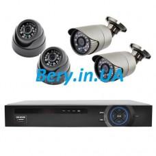 Комплект видеонаблюдения KN7904DP