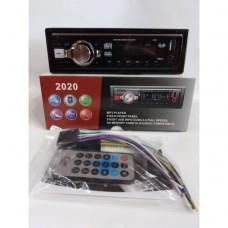 Автомагнитола 1Din 2020 еврофишка, c радиатором +USB, SD, AUX