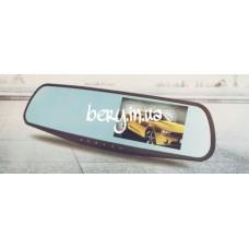 """Автомобильный видеорегистратор-зеркало L9000 4.3"""" + камера"""