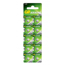 Батарейки GP - Alkaline AG1 LR60 164 1.5V 10шт