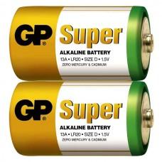 Батарейки GP - Super Alkaline D LR20 13A 1.5V 20шт