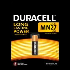Батарейки Duracell - MN27 A27 Alkaline 12V 1шт