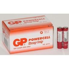 Батарейки GP - Powercell ААА R03 1.5V 40/1000шт красные