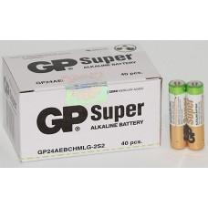 Батарейки GP - Super Alkaline AAA LR03 1.5V 40/1000шт
