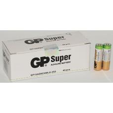 Батарейки GP - Super Alkaline AA LR6 1.5V 40/1000шт