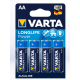 Батарейки Varta - Long Life Power АА LR6 1.5V 4/80/400шт