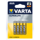 Батарейки Varta - Superlife ААА R03 1.5V 4/48/240шт