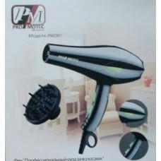 Фен для укладки волос PM-2301 с концентратором и диффузором