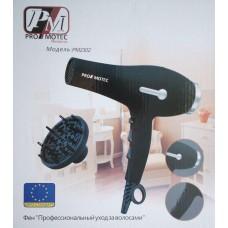 Фен для волос Promotec PM-2302 с концентратором и диффузором