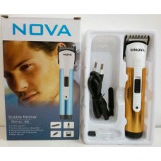 Машинка для стрижки Nova 405 от сети с аккумулятором +насадки