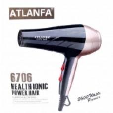 Фен для укладки волос c насадкой AT-6706, 2600W
