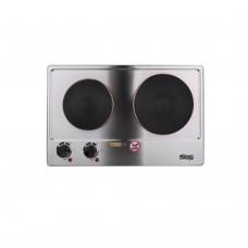 Электрическая плита DSP 4047 дисковая 1200-1500W, 2 конфорки