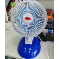 Вентилятор настольный 605 прищепка + подставка