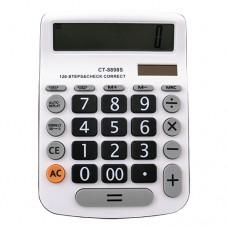Калькулятор  CT-8898S, двойное питание, 12-разрядный