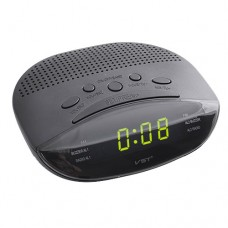 Часы сетевые 908-2 Зеленые + Радио