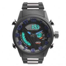Часы наручные Quamer 1512 водонепроницаемые, карбоновый ремешок