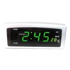 Часы настольные 818-2 Зеленые
