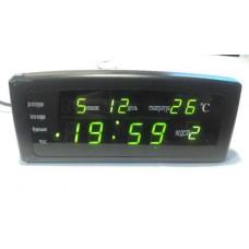 Часы настольные 868-2 Зеленые