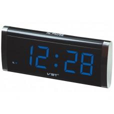 Сетевые часы VST 730-5 синие