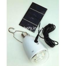 Лампа аккумуляторная GD-light GD-5005, E27 ссолнечной панелью