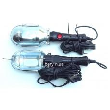 Переносной светильник, 10м пластмассовая ручка (укр.)
