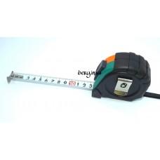Рулетка магнит Standard 10м, резиновая защита, 3фиксатора