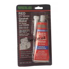 Герметик ABRO красный высокотемпературный, 85г