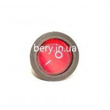 Кнопка круглая 3 контакта