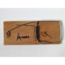 Мышеловка Ameks большая, деревянная колодка